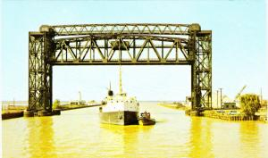 Ore Carrier , CLEVELAND , Ohio , 50-60s