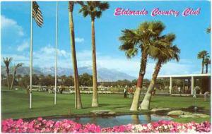 Eldorado Country Club in Palm Desert, California, CA, Chrome