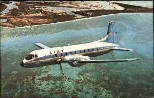 Liat Airlines Airplane Hawker Siddeley Avro 748 Puerto Rico & Trinidad PC
