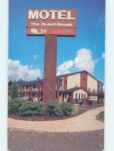 Unused Pre-1980 MOTEL SCENE Vancouver Washington WA hk0721