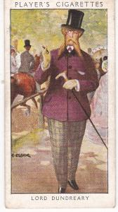 Cigarette Card Player's Dandies No 47 Lord Dundreary