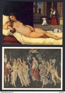 5x Nude Women Men postcards - 5 postcards
