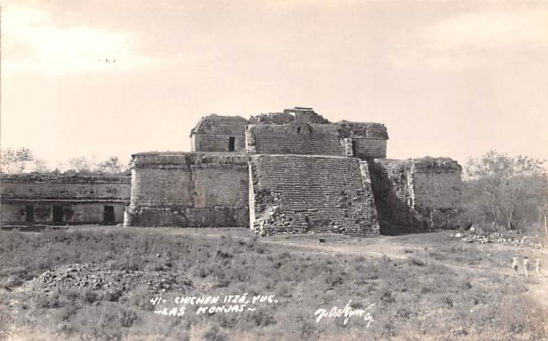 Mexico Postcard Tarjeta Postal Chichen Itza