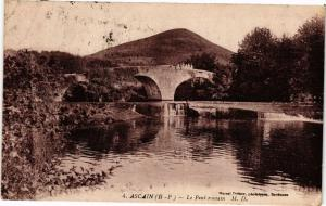 CPA Ascain - Le Pont Romain (163304)