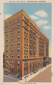 Hotel De Soto New Orleans Louisiana Curteich