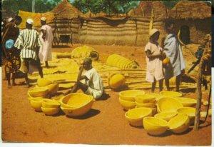 Nigeria Village Market near Kaduna capital of Northern Region - unposted