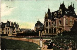 CPA CABOURG - Villas et Jardins (515893)