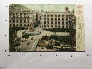 circa 1909-Hong Kong-Queen's Statue-undivided back