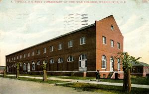 DC - Washington. War College, Typical US Army Commissary