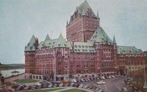 QUEBEC CITY, Quebec, 1950-1960s; Chateau Frontenac