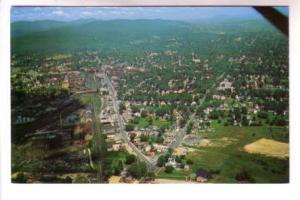 Aerial View of Rutland, Vermont, Color John B Hustler, Koppel Color Cards