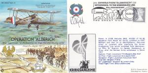 PR Margetts Aircraft Captain PR Margetts RAF Hindenburg Signed FDC