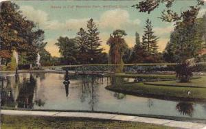 Scene in Colt Memorial Park, Hartford, Connecticut, PU-1908