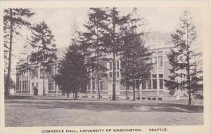 Washington Seattle Commerce Hall University of Washington Albertype