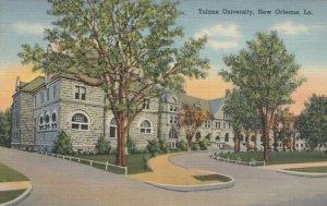 NEW ORLEANS, Louisiana, 30-40s ; Tulane University