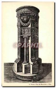 Old Postcard ancient vase