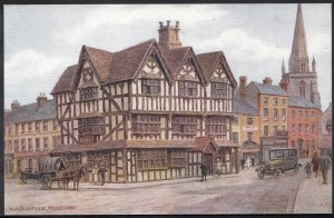 Herefordshire Postcard - The Old House, Hereford    DP234