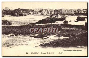 Old Postcard Biarritz A Corner of the Riviera