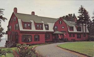 Exterior,  Roosevelt summer home on Campobello Island,  N.B.,  Canada,  40-60s