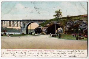 River Dr & Tunnel, Fairmount Park, Philadelphia PA