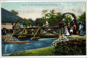 Rustic Bridge, Kennywood Park, Pittsburg PA