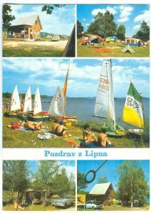 Czech Republic, Pozdrav z Lipna, used Postcard