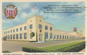 LOS ANGELES, California, 1947; Helms Bakeries - Bakers of Helms Olympic Bread