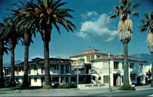 California Santa Barbara Ocean Park Mootel 1957