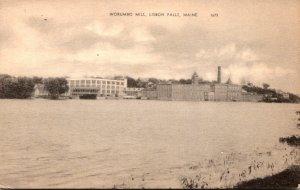Maine Lisbon Falls The Worumbo Mill 1951