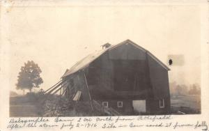 D43/ Pittsfield Pennsylvania Pa Real Photo RPPC Postcard 1916 Dalsymfiles Barn