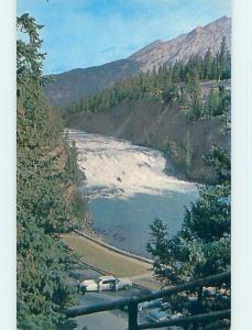Unused Pre-1980 TOWN VIEW SCENE Banff Alberta AB p9149