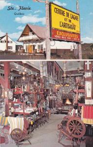 Centre De L'Agathe et le L'Artisanat, STE-FLAVIE , Quebec , Canada , 60-70s
