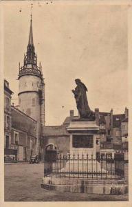 France Auxerre Place et Monument Fournier Tour de l'Horloge