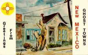 New Mexico Hillsboro Historic Ghost Town