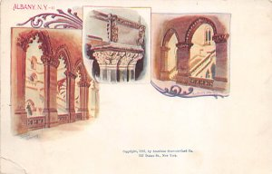 Albany New York, USA Postcard Unused