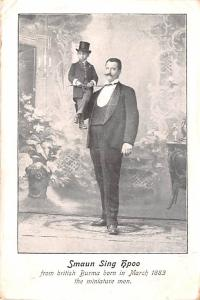 Circus Acts Post Cards Smaun Sing Hpoo, Fron British Burma Born March 1883 Th...