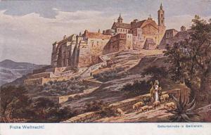 AS: Geburtskirche in Bethlehem, Frohe Weihnacht!, F. Perlberg,  00-10s