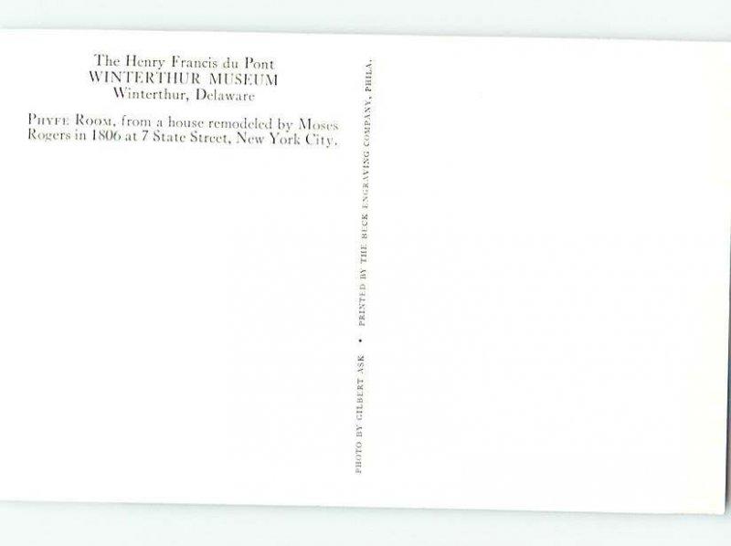 Chrome MUSEUM SCENE Winterthur - By Wilmington Delaware DE AG0300