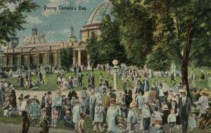 TORONTO , Ontario , Canada , 1900-10s ; C.N.E. Young Canada's Day