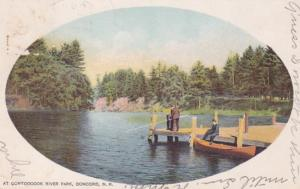 New Hampshire Concord Fishing At Contoocook Park 1912