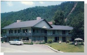 Gatlinburg, Tennessee/TN Postcard, Whaley Motel, 1950's?