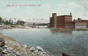 MADISON , Maine , 1900-10s ; New Bridge & Mills