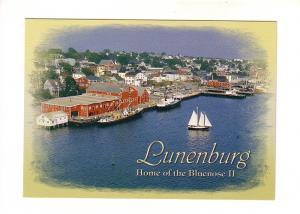 Bluenose II and Waterfront Scene, Lunenburg, Nova Scotia, The Book Room, Phot...