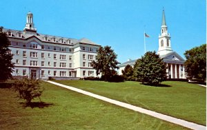 VT - Middlebury. Middlebury College, Hepburn Hall, Mead Memorial Chapel