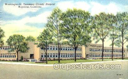 Tammany Charity, Bogalusa, Louisiana Medical Hospital, Sanitarium Postcard Po...