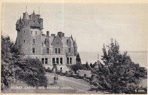 BELFAST, Northern Ireland, PU-1956; Belfast Castle And Belfast Lough