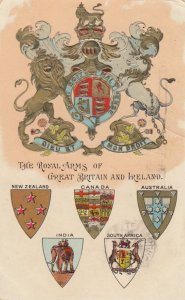 Royal Arms of Great Britian & Ireland , 1913