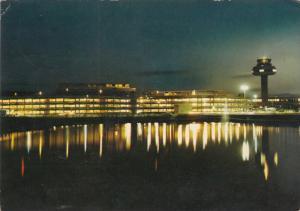 Flughafen Bei Nacht, HANNOVER-LANGENHAGEN, Lower Saxony, Germany, PU-1974