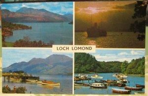 Scotland Loch Lomond Multi-view - unposted