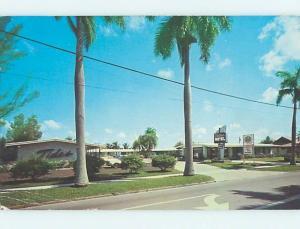 Pre-1980 MOTEL SCENE Fort Myers Florida FL hk1564
